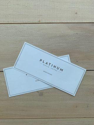 🚚 Cathay Platinum Suites Movie Voucher (Pair)