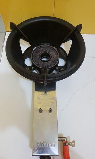 SET 3in1 Kompor Rinnai SECOND RI-300HP + selang 3meter + karburator tekanan tinggi (Tekanan Tinggi)