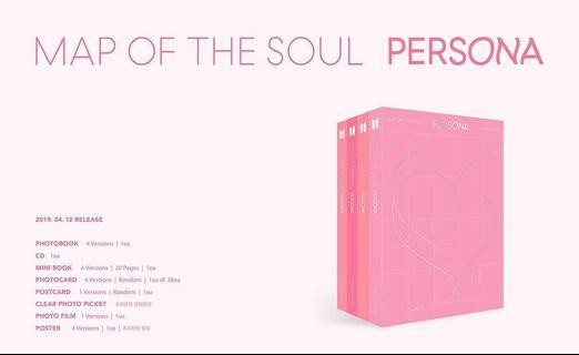 [SG GO] BTS Map of the Soul : Persona Albums