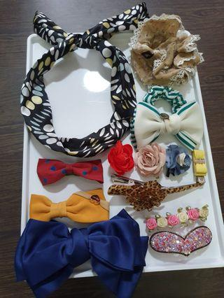 Good condition hair accessories