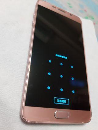 免運*無面交*可接受再下標*Samsung 三星 note5 64G 粉色 9成新 無盒但有附配件及手機殼