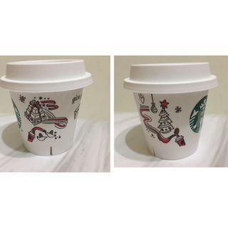 星巴克 聖誕節 耶誕節 聖誕樹 耶誕樹 starbucks pudding cup xmas tree 季節限定 小盆栽