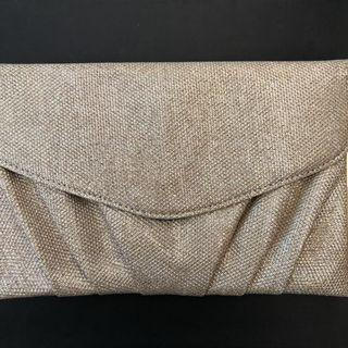 colette gold clutch/bag