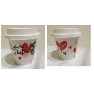 星巴克 情人節 starbucks pudding cup valentine's day 季節限定 小盆栽