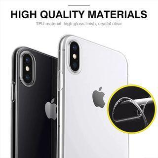 🌟INSTOCK🌟 Clear Slim iPhone Case