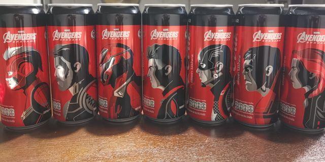 Coke avengers endgame collection