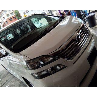 MPV car rental - TOYOTA ALPHARD / VELLFIRE For Rent