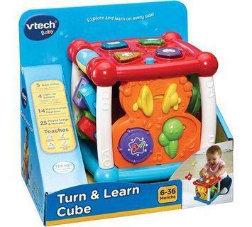 Vtech Baby Turn & Learn Activity Cube