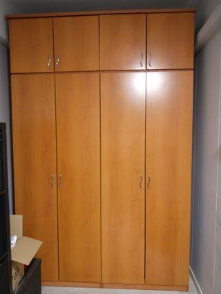 4 Door Wardrobe + Free Bed Frame
