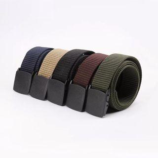 Plastic buckle Belt Men