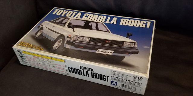 TE71 TOYOTA Corolla 1600GT 模型