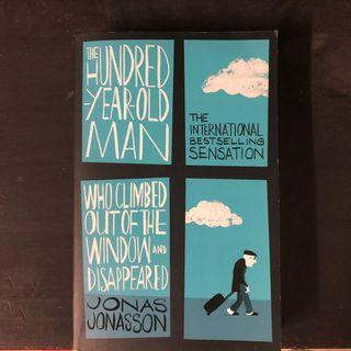 Bestseller book - The 100yo Man Who Climbed Out The Window & Disappeared