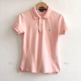 Ralph Lauren 粉櫻系polo衫短袖上衣
