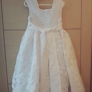 白色花童禮服 小公主蝴蝶結夢幻款