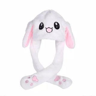 Dancing bunny hat topi kelinci bergerak goyang