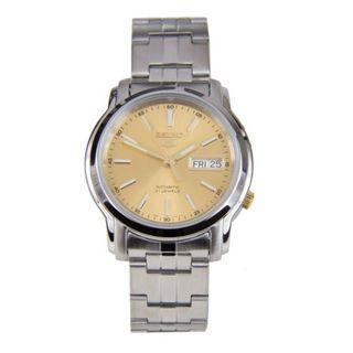 5折出售 深水步有門市全新1年保養有單正版正貨 SEIKO 精工錶 SNKL81K1