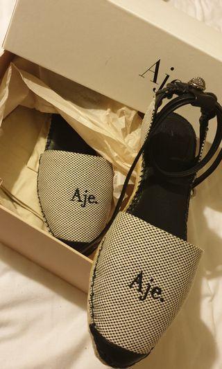 Aje Black Espadrille size 40 (small.make)