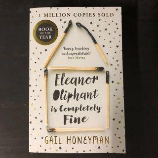Bestseller book - Eleanor Oliphant is Completely Fine