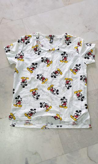 To bless: ladies Mickey tee