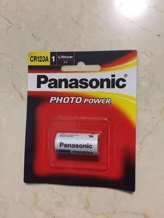 🚚 Panasonic CR 123A batteries sales [4 batteries left]