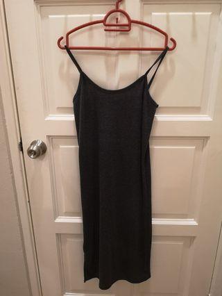 Maxi grey dress
