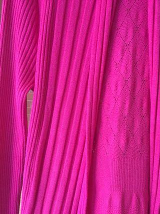 Cardigan pink fanta