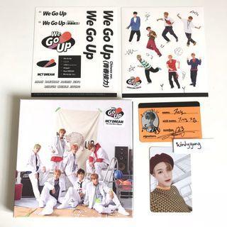 [WTS] NCT Dream We Go Up Mini Album w Jeno PC & Crew Card