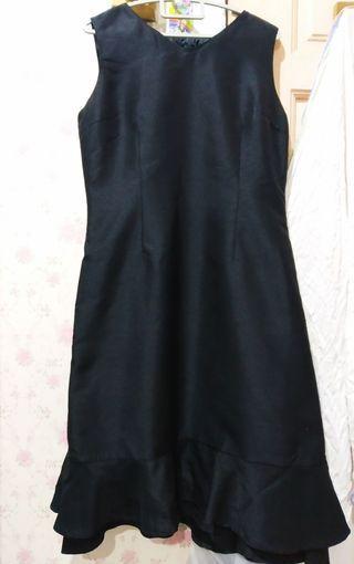 Black dress office wear