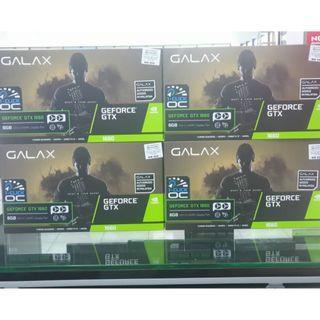 GALAX GTX1660 1-CLICK OC 6GB GDDR5 GRAPHIC CARD