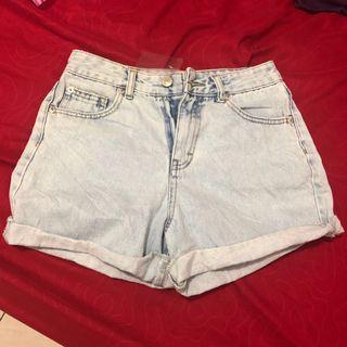 Short pants (denim)