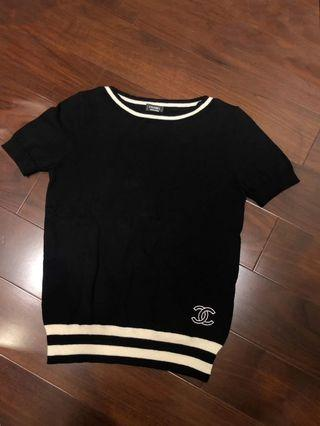 New Chanel Summer knit top from CC uniform