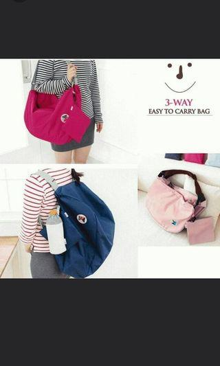 3 in 1 Korean Travel Bag