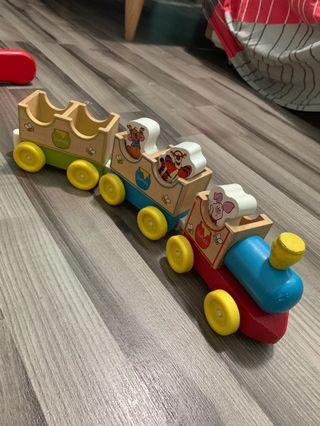 Lelong sale: Wooden trains