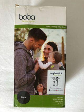 BOBA - BABY WRAP (BLACK)