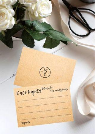 🚚 Fun advice cards for weddings & bridal showers