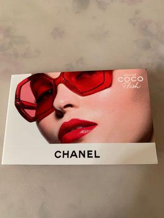 Chanel rouge coco flash sample