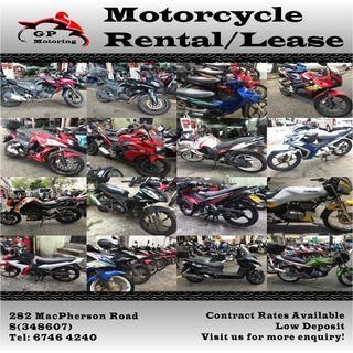 Motorcycles Rental to Kick start your job!!! 2B Bike Rent