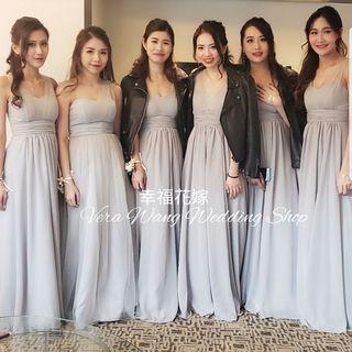 幸福花嫁 Vera Wang Wedding Shop  全新度做姊妹裙服務 連化妝Set頭