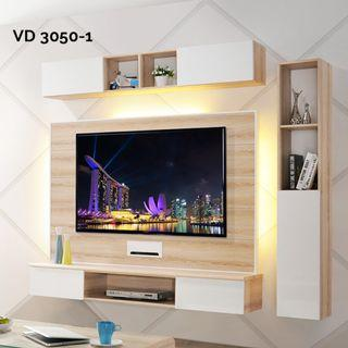 VD3050-1 6ft Feature Wall TV Cabinet Warehouse56