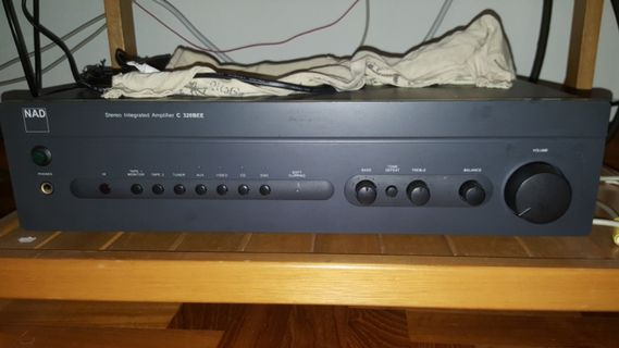 NAD C320BEE stereo integrated amplifier hi-fi, Electronics