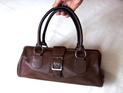 100 % Authentic Fossil Brown Bag