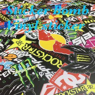 Sticker Bomb vinyl sticker wrap