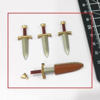 [1:12 Scale] BAK Erik's daggers