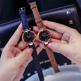 Women's Watch PU Leather Watch