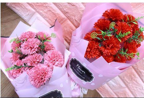 🌷母親節感恩價🌷 玫瑰康乃馨11朵皂花禮盒