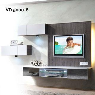 VD5000-6 6ft Feature Wall TV Cabinet Warehouse56