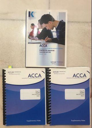 🚚 ACCA F6 Taxation
