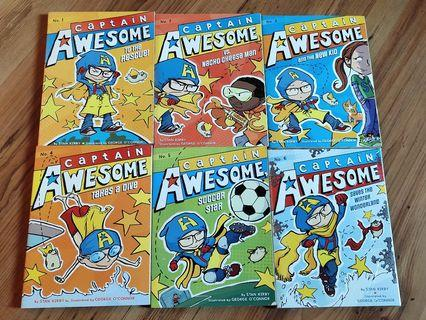 Captain Awesome story book 6pcs
