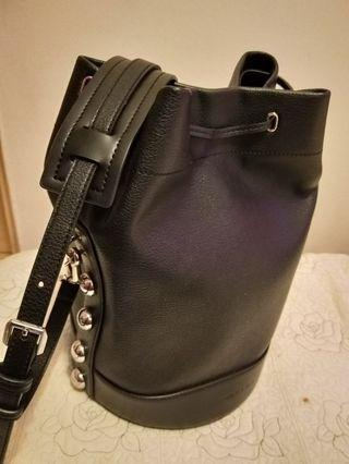 100% authentic charles and keith bucket bag