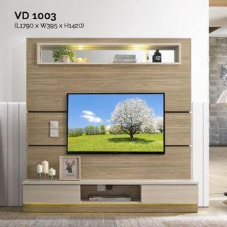 VD1003 6ft Feature Wall TV Cabinet Warehouse56